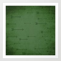 Loxley in Sherwood Forest - Arrows Art Print