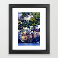 Livin On The Edge Framed Art Print
