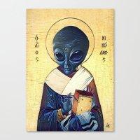St. Alien Canvas Print