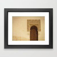 Moor Door Framed Art Print