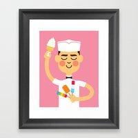 Taste Of Summer Framed Art Print