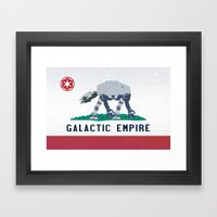 California Strikes Back Framed Art Print