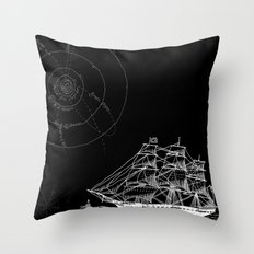If Time Is My Vessel Throw Pillow