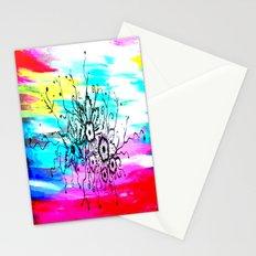 Azima's Pregnancy flowers Stationery Cards