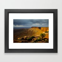 Sunrise Utah. Framed Art Print