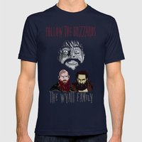 WWE - The Wyatt Family Mens Fitted Tee Navy SMALL