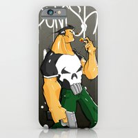 iPhone & iPod Case featuring The Punisher by Pahito