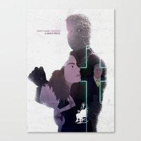 True Detective - Haunted… Canvas Print