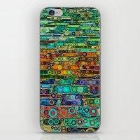 :: Technicolor Walkway :… iPhone & iPod Skin
