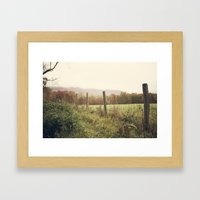 Mountain Meadow Framed Art Print