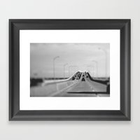 3 Mile Bridge Framed Art Print
