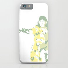 Lady Pointing Out iPhone 6 Slim Case