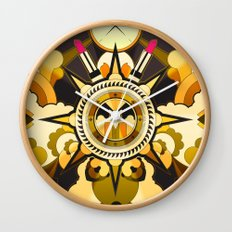 The Lost Lipstick * Wall Clock