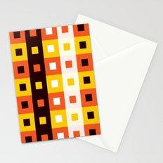 Stripes & Squares Stationery Cards