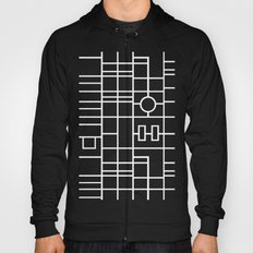 Map With Roundabout Hoody
