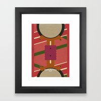 Back To The Future: Part… Framed Art Print