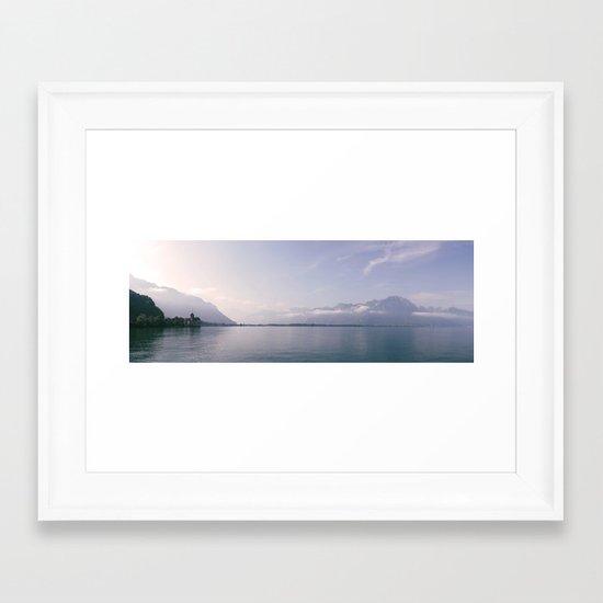 Château de Chillon Framed Art Print