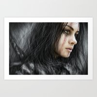 From The Storm Art Print