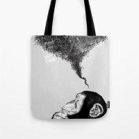 Chimpistotle Tote Bag