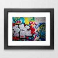 Berlin Wall Framed Art Print