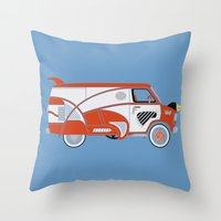 Pee Wee's Big Adventure … Throw Pillow
