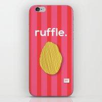 Ruffle iPhone & iPod Skin