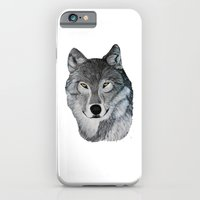 Wolf portrait iPhone 6 Slim Case
