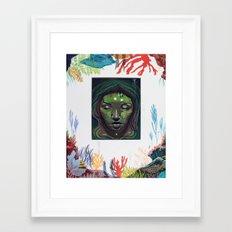 Sea Witch Framed Art Print