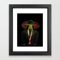 Elephant Man 017 Framed Art Print