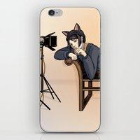 Studio Shoot (Neko Versi… iPhone & iPod Skin