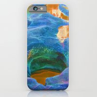 Abstract beautiful rock pools in the late afternoon iPhone 6 Slim Case