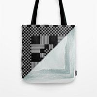 waves/grid #9 Tote Bag