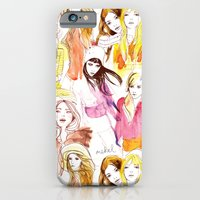iPhone & iPod Case featuring Warm Summer Nights by mekel