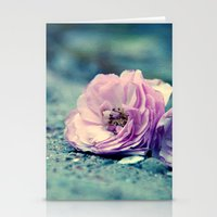 Rose On Beach Stationery Cards