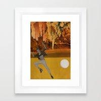 Desert Drop Framed Art Print