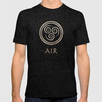 Avatar Last Airbender - … Mens Fitted Tee Tri-Black SMALL