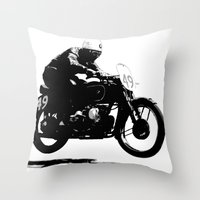 Airborne Airhead Throw Pillow