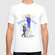 Glass Ceiling Mens Fitted Tee White SMALL