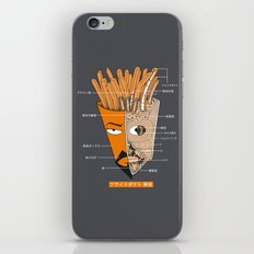 French Fries Anatomy iPhone & iPod Skin