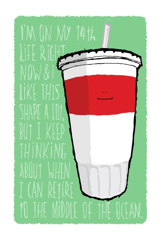 Happy Meal - Soda Art Print