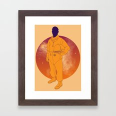 Lost in Space Framed Art Print