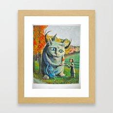 sinking friendships Framed Art Print