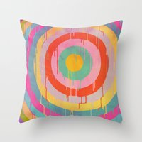 Wet Paint Throw Pillow