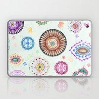 Bohemian Mandala Elephant (light) Laptop & iPad Skin