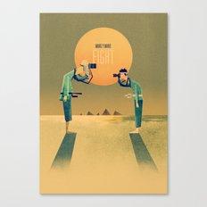 1 on 1 Poster Print Canvas Print