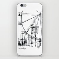 London Eye iPhone & iPod Skin