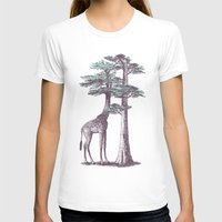 Fata Morgana Womens Fitted Tee White SMALL