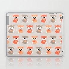 Baby foxes pattern Laptop & iPad Skin