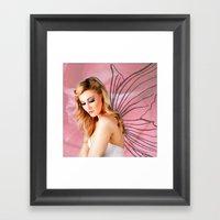 Flower Fairy I Framed Art Print