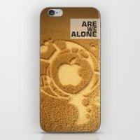 Are We Alone ? iPhone & iPod Skin
